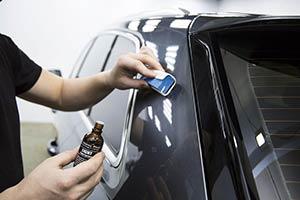 Детейлинг кузова автомобиля - Обработка жидким стеклом автомобиля